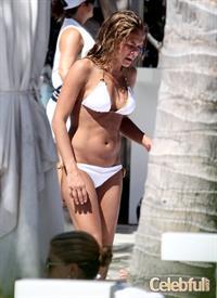 Cindy Taylor in a bikini