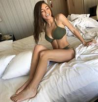 Taylor Alesia in a bikini