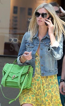 Nicky Hilton strolling in Soho May 2, 2013