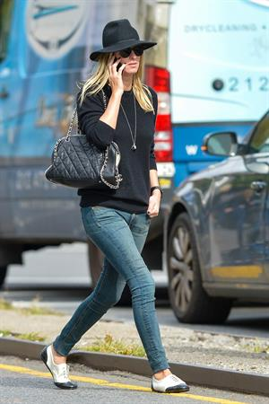 Nicky Hilton out in the East Village in New York October 9, 2013