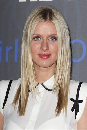 Nicky Hilton attends the HBO  Girls  Season 2 premiere at the NYU Skirball Center in NY January 9, 2013