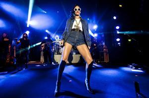 Rihanna Performs during her 777 Tour at Bern in Stockholm, Sweden (November 16, 2012)
