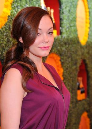 Rose McGowan 3rd Annual Veuve Clicquot Polo Classic in LA October 6, 2012
