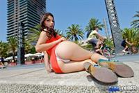 Valentina Nappi in lingerie - ass