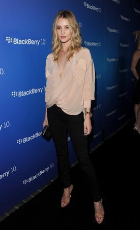 Rosie Huntington-Whiteley - BlackBerry Z10 launch 3/20/13