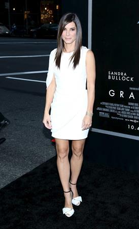 Sandra Bullock  Gravity  New York Premiere on Oct. 1, 2013