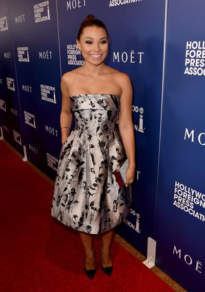 Jessica Parker Kennedy at The Hollywood Foreign Press Association Grants Banquet August 14, 2014