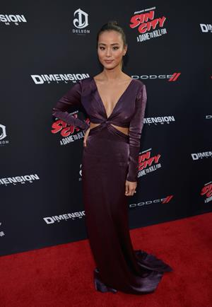 Jamie Chung premiere of Sin City: A Dame To Kill For August 19, 2014