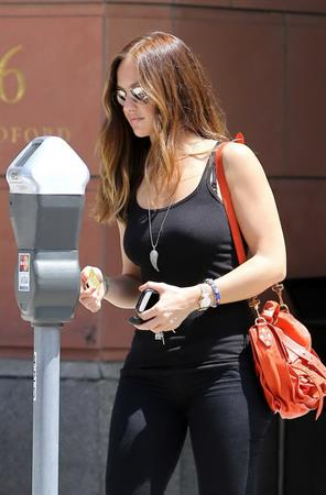 Minka Kelly out and about in Beverly Hills 8/5/2012