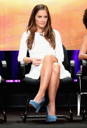Minka Kelly TCA summer tour July 9, 2011