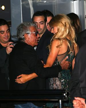 Paris Hilton Roberto Cavalli's boat party in Cannes May 22, 2013