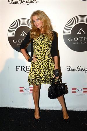 Paris Hilton at The Gotha in Cannes August 24, 2013