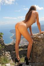 Juliette Cosmo enjoying nature naked