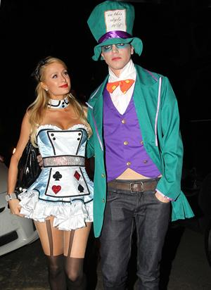 Paris Hilton - Halloween Party in Beverly Hills 10/26/12