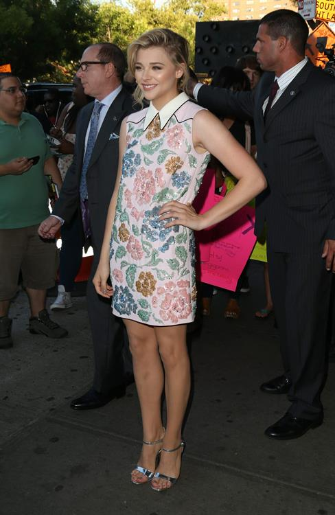 Chloe Grace Moretz If I Stay New York premiere August 18, 2014