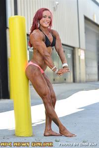 Katie M. Lee in a bikini