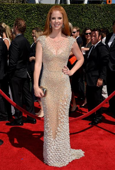 Sarah Rafferty 2014 Creative Arts Emmy Awards, Los Angeles August 16, 2014