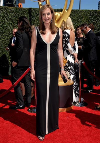Allison Janney 2014 Creative Arts Emmy Awards, Los Angeles August 16, 2014