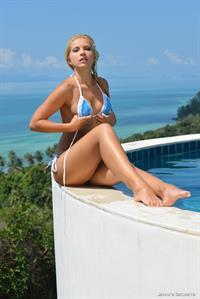 Lucie Kralickova in a bikini