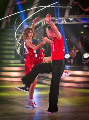 Alex Jones Strictly Come Dancing 2011