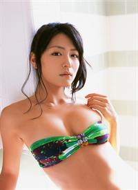 Yukie Kawamura in a bikini