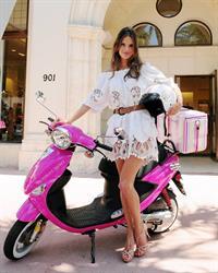 Alessandra Ambrosio Victoria's Secret Bombshell Tour in Miami 2/6/2011