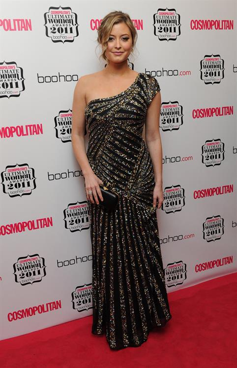 Alex Jones and Holly Valance at the Cosmopolitan Ultimate Women Awards 2011 on 3-11-2011