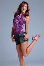 Alessandra Ambrosio in a Victoria's Secret photo shoot