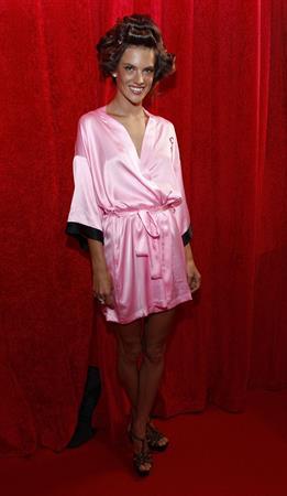 Alessandra Ambrosio backstage Victoria's Secret Fashion Show 2010