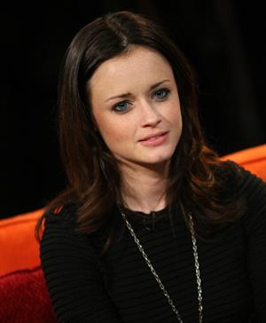 Alexis Bledel at the Pop Show at Fuse Studios in New York