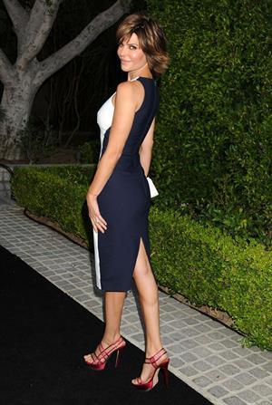 Lisa Rinna Brent Shapiro Foundation Summer Spectacular (September 7, 2013)