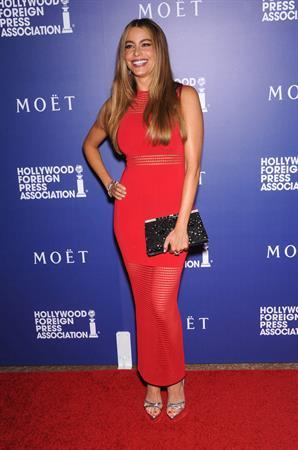 Sofia Vergara Hollywood Foreign Press Associations Grants Banquet, Beverly Hills Aug 14, 2014