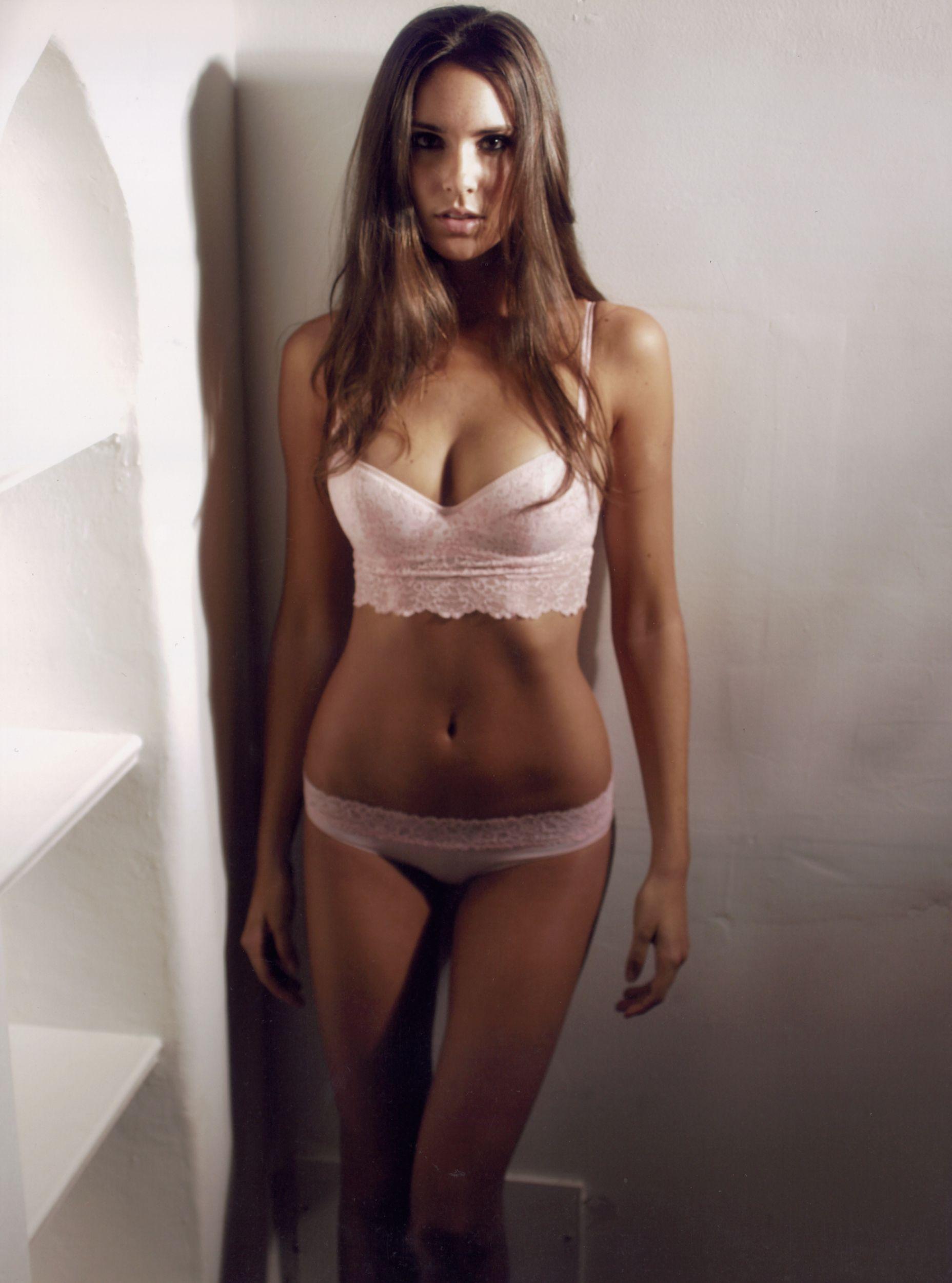 Katie Savoy in lingerie