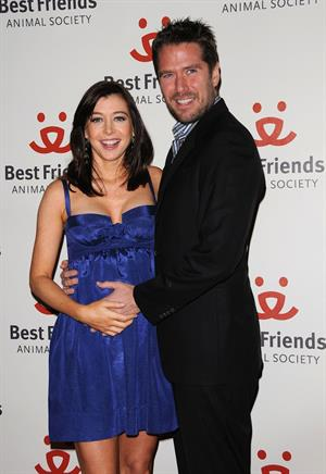 Alyson Hannigan 15th annual lint roller party