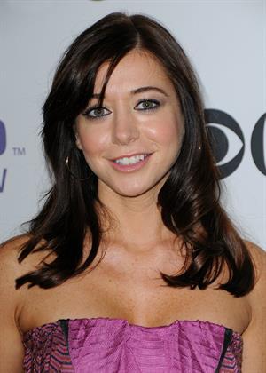 Alyson Hannigan ar CBS Comedies Season premiere party in Los Angeles September 17, 2008