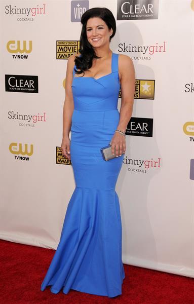 Gina Carano at the 18th Annual Critics' Choice Movie Awards, 10 Jan 2013