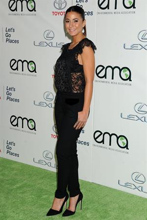 Emmanuelle Chriqui 23rd Annual Environmental Media Awards in Burbank, October 19, 2013