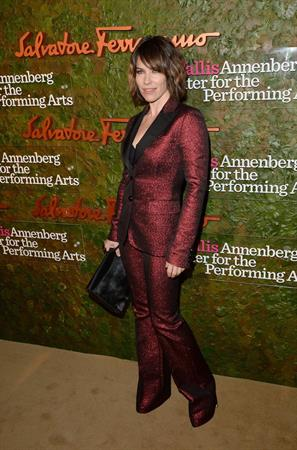 Evangeline Lilly Wallis Annenberg Performing Arts Gala in Beverly Hills, October 17, 2013