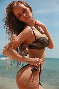 Valentina Grishko in a bikini