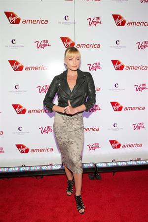 Jaime Pressly attending the Virgin America Celebrates New Los Angeles To Las Vegas Route in Las Vegas - April 22, 2013