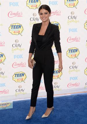 Selena Gomez attends the 2014 Teen Choice Awards, Los Angeles August 10, 2014