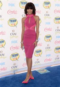 Zendaya Coleman attending the 2014 Teen Choice Awards in Los Angeles on August 10, 2014