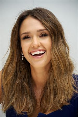 Jessica Alba at a press conference for Sin City: A Dame to Kill For at the Four Seasons Hotel in Bevely Hlls on August 2, 2014