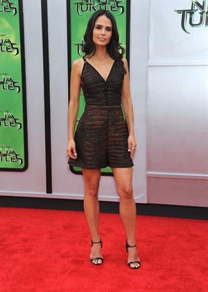 Jordana Brewster at the Teenage Mutant Ninja Turtles L.A. premiere