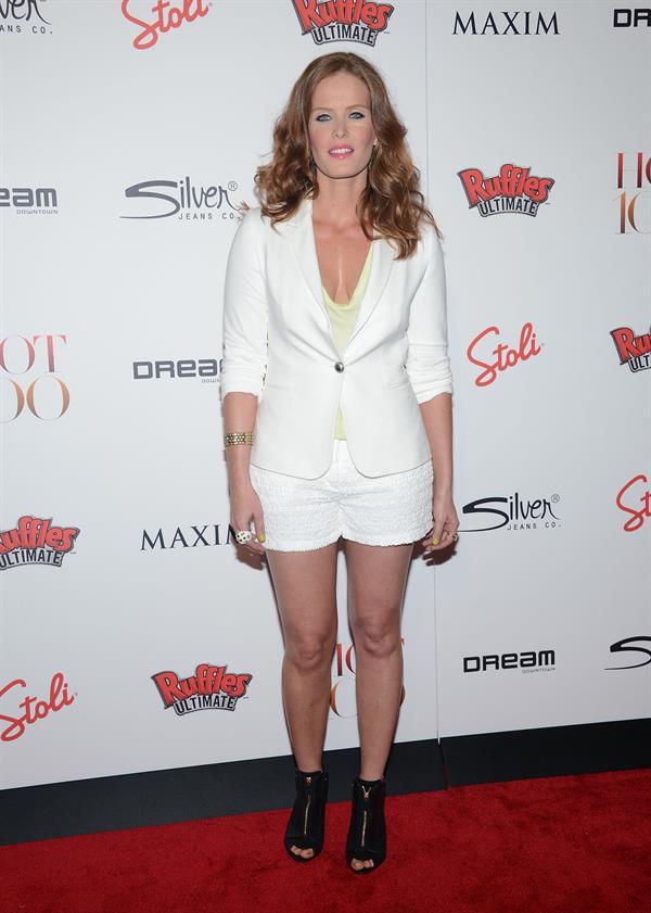 Rebecca Mader at Maxim's Hot 100 party in New York City, May 24, 2012