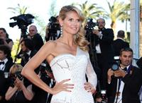 Heidi Klum attending the  Nebraska  Premiere at the 66th Annual Cannes Film Festival (May 23, 2013)