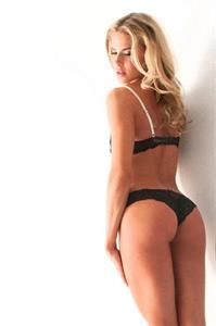 Brooke Mangum in lingerie - ass