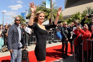 Heidi Klum America's Got Talent auditions in New Orleans 3/4/13