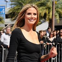 Heidi Klum America's Got Talent auditions in New Orleans 3/4/13