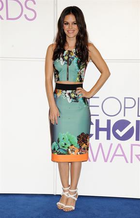 Rachel Bilson - 40th People's Choice Awards Noms 11/5/13